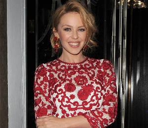 Kylie Minogue in Dolce & Gabbana