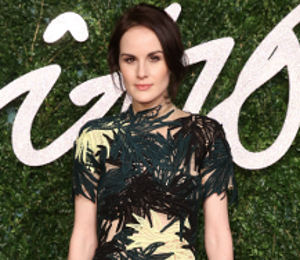 Michelle Dockery & Laura Carmichael: Downton Abbey at the British Fashion Awards!