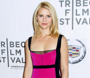 Image showing Claire Danes in Narciso Rodriguez 'Hysteria' premiere Tribeca Film Festival - buy collection online