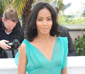 Image showing Jada Pinkett Smith at Cannes in Alberta Ferretti - 'Madagascar 3' Photo Call