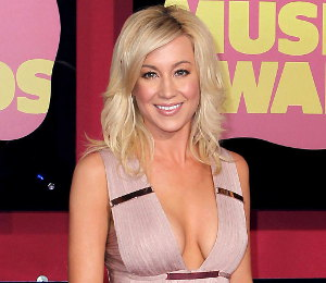 Image showing Shop Kellie Pickler Herve Leger fringe dress - 2012 CMT Music Awards