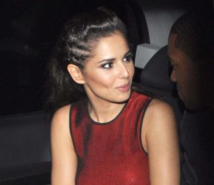 Image showing Buy Cheryl Cole Alexander Wang red dress - The Grafton Lounge after Dublin concert