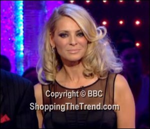Image showing Shop Tess Daly Alberta Ferretti & Holly Fulton dresses - Strictly Come Dancing Week 2