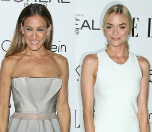 Sarah Jessica Parker & Jaime King in Calvin Klein - ELLE Women in Hollywood