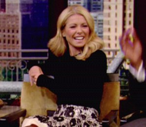 Image showing Shop Kelly Ripa Burberry & Milly skirts - 'LIVE! with Kelly & Michael' Oct 2012