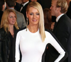 Image showing Shop Tess Daly 3.1 Phillip Lim black & white dress - 'Skyfall' Premiere (not Stella!)