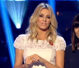 Image showing Tess Daly in Project D white dress - Strictly Results Show Nov 4