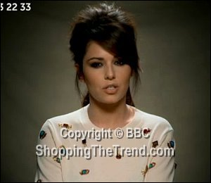 Image showing Shop Cheryl Cole 3.1 Phillip Lim jumper - BBC Children in Need 2012