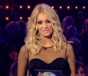 Image showing Tess Daly in Stella McCartney jumpsuit - Strictly Results Nov 25