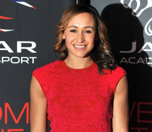 Image showing Shop Jessica Ennis Alexander McQueen dress - Jaguar Academy of Sport Awards 2012