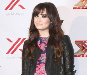 Image showing Shop Demi Lovato Topshop floral dress - X Factor Final Four Party Dec 6