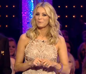 Image showing Tess Daly in Alberta Ferretti dress on Strictly Come Dancing Dec 8
