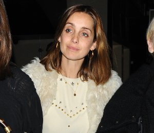 Image showing Shop Louise Redknapp Isabel Marant top - Electric Cinema on Dec 13