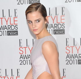 Emma Watson in Hakaan dress @ ELLE Style Awards 2011 ...
