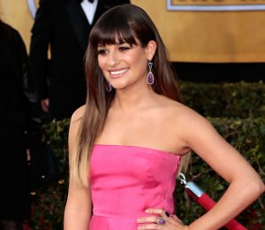 Lea Michele in Valentino at 2013 SAG Awards - shop fuchsia collection online