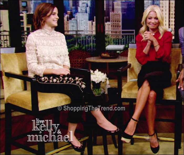 Emma Watson on Live with Kelly September 13