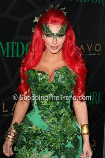 Heidi Klum As A Dead Body Kim Kardashian As Poison Ivy