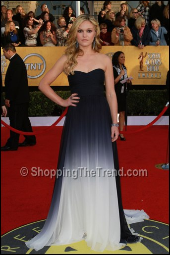julia stiles monique lhuillier dress sag awards
