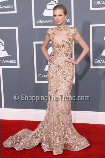 taylor swift in zuhair murad grammy awards