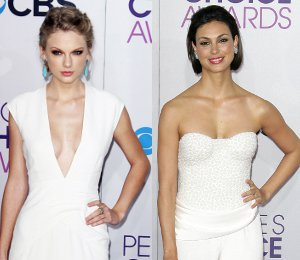 Taylor Swift, Morena Baccarin & more white - People's Choice Awards 2013