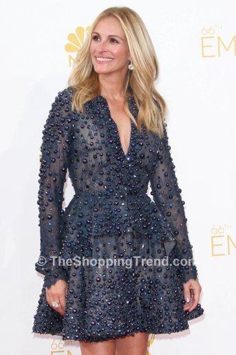 Julia Roberts Mini Dress Emmy Awards Best Dressed In
