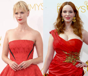 Red Hot at the Emmys: January Jones, Claire Danes, Christina Hendricks & more