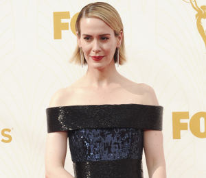 Sarah Paulson in Sequin Dresses