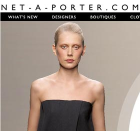 Net a porter free shipping promotion in july 2009 for usa for Net a porter usa