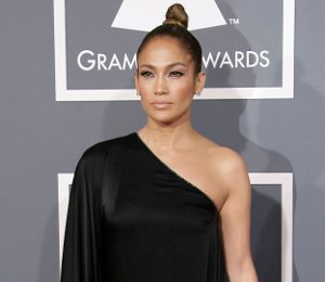 Shop Jennifer Lopez Anthony Vaccarello gown - Grammy Awards 2013