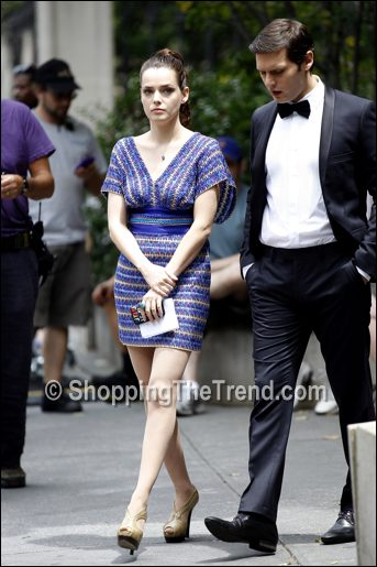 roxane mesquida dress gossip girl