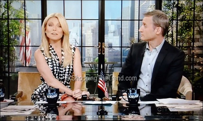 kelly ripa marni dress live with kelly