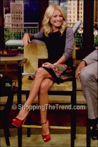 Kelly Ripa ALC sweater October 8 Live with Kelly