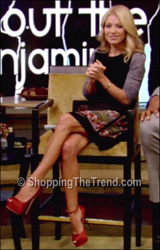 Kelly Ripa Proenza Schouler skirt October 8 Live with Kelly