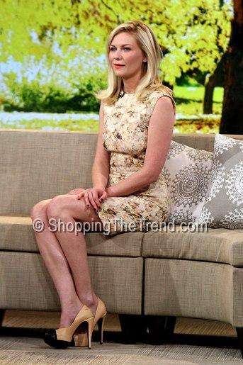 Kirsten Dunst in Dolce & Gabbana tomato print dress @ AFI ...