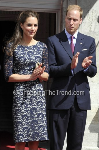 kate middleton buy erdem navy lace dress