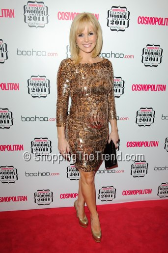 Get The Look Amanda Holden Gold Sequin Dress By Alice