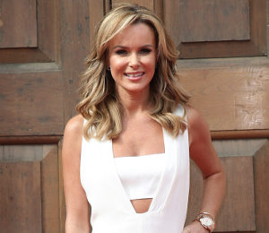 Amanda Holden white jumpsuit by Adam Lippes - BGT Press Call