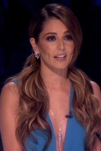 Cheryl Cole Turquoise Dress On X Factor By Thakoon