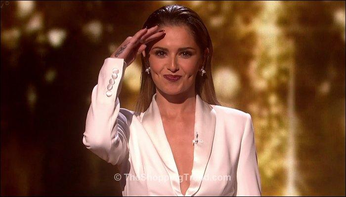 Cheryl Cole White Suit Amp Mel B Maxi Skirt On X Factor