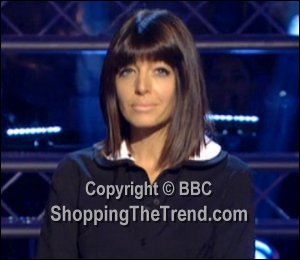 Image showing Shop Claudia Winkleman Topshop dress Nov 25 - Strictly Results Show