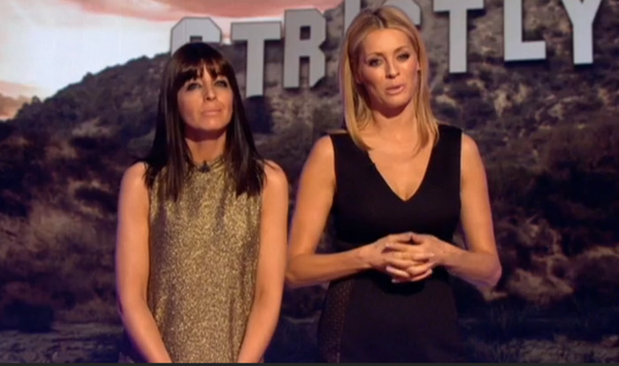Claudia Winkleman in alice + olivia