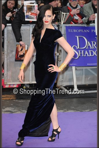 eva green tom ford dark shadows uk premiere