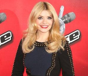 Shop Holly Willoughby studded dress at The Voice photocall by Finders Keepers