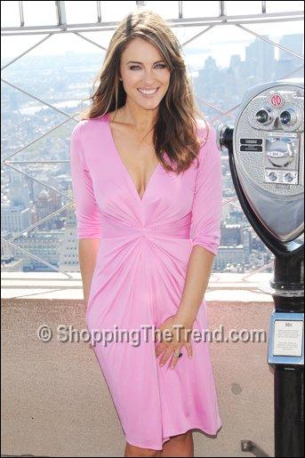 Buy Elizabeth Hurley Issa Pink Dress Empire State