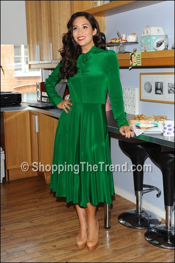 Buy Myleene Klass Green Dress By Marc By Marc Jacobs