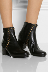 Maiyet Studded Leather Ankle Boots Intl Shipping