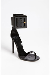 Gucci Victoire Ankle Cuff Sandal Black