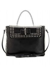 Christian Louboutin Sweet Charity Optic Studded Shoulder Bag