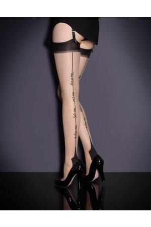 Agent Provocateur Whip Me Stockings Flesh