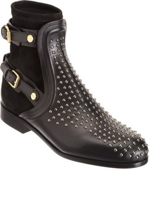 Chloe Studded Combo Ankle Boot